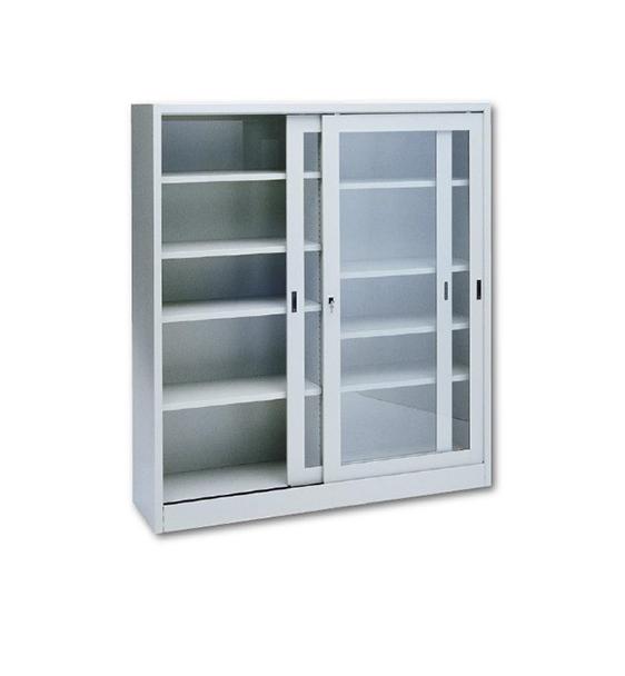 Armadio metallico ante scorrevoli in vetro temperato 150 for Armadio metallico ante scorrevoli 120x45x200