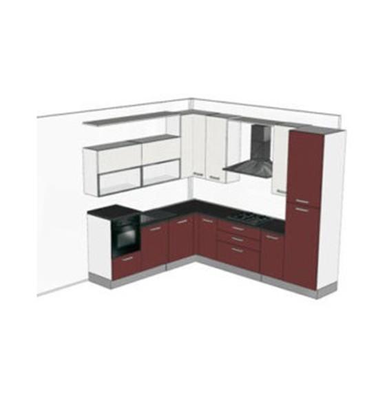 Cucine componibili cucine componibili 2 metri - Cucina 3 metri angolare ...