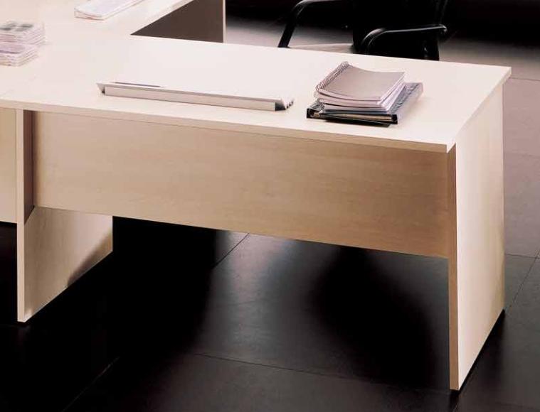 Scrivanie Ufficio In Legno : Scrivania fianchi in legno l cm forniture mobili