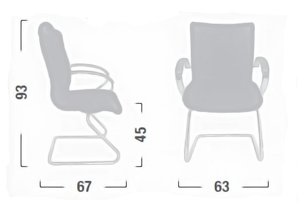 Sedia poltrona attesa visitatore linea apollo ap18 - Sostituire seduta sedia ...