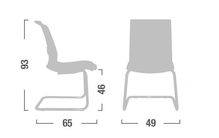 Sedia poltrona attesa visitatore linea living lv19 - Sostituire seduta sedia ...